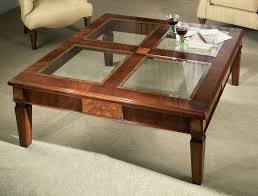 Glass Coffee Table Top Custom Made Occasional Table The Top Was Made By The Clients Father And Lay Around Unfinished For 40 Years (View 4 of 10)
