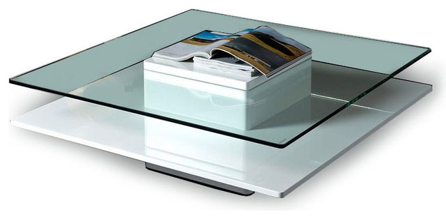 Beau Glass Contemporary Coffee Table To Attract The Eye