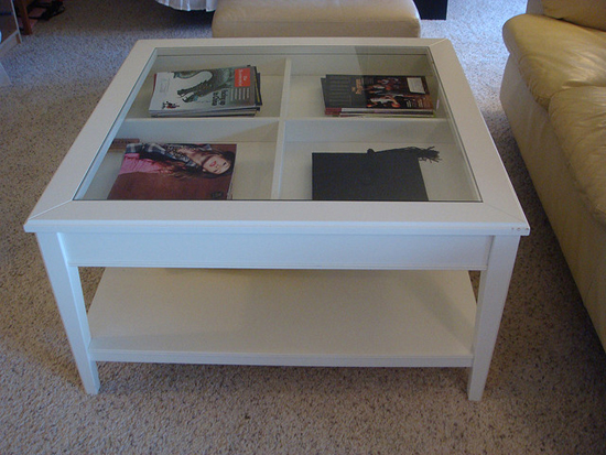 Featured Photo of Glass Display Coffee Tables Ikea