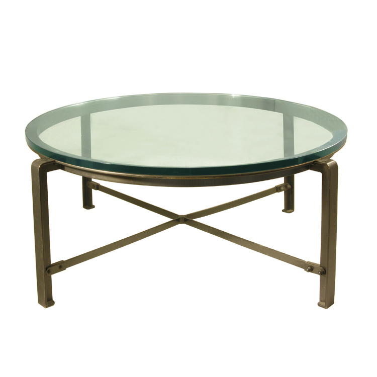 glass-feature-home-designs-round-coffee-tables-with-glass-top-glass-top-metal-coffee-tables-round-iron-glass-top-coffee-table (Image 4 of 10)