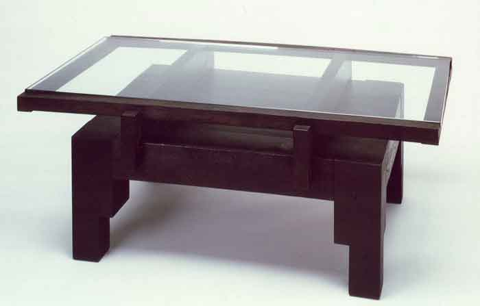 Glass Modern Coffee Table Lasia Coffee Table 30 X 54 This Table Is Made From Antique Wood Inquire About This Item Now (Image 4 of 10)