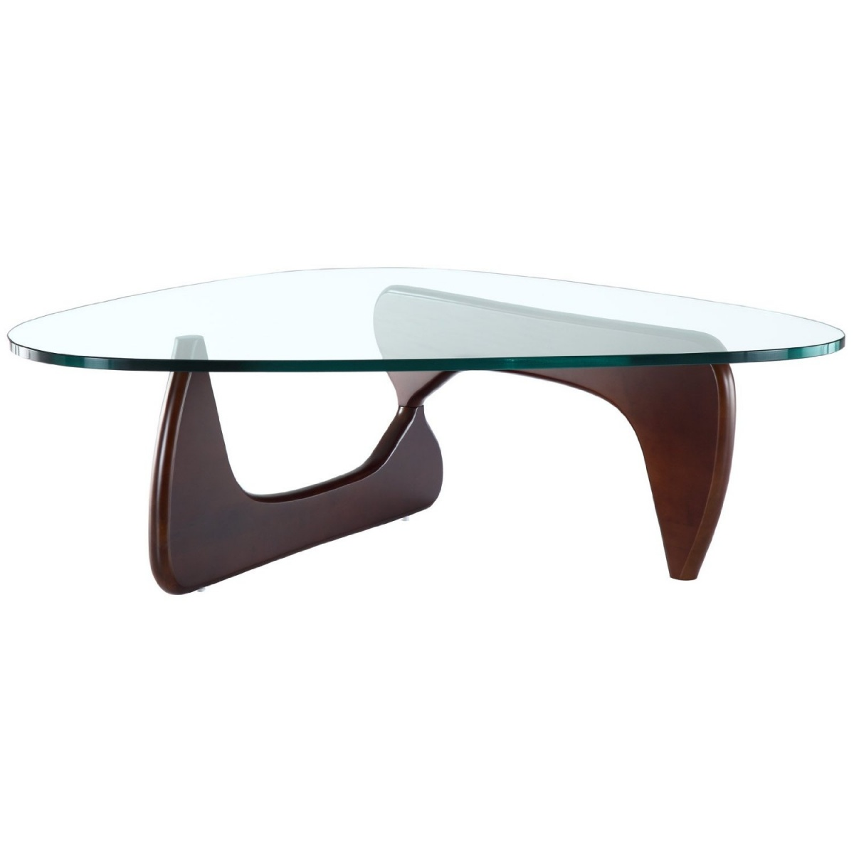 glass-modern-coffee-tables-this-coffee-table-is-the-epitomy-of-moderns-design-a-glass-top-and-two-curved-wood-legs-that-interlock-to-form-a-tripod (Image 10 of 10)
