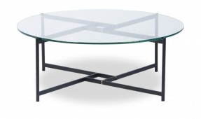 glass-top-coffee-table-with-metal-base-Morris-299 (Image 6 of 10)