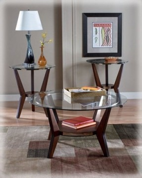 Featured Photo of Modern Glass Top Coffee Tables And End Tables