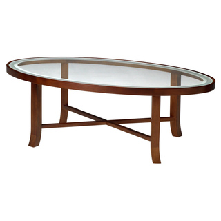 Glass Top Coffee Tables For Sale Mayline Illusion Series Oval Oak Wooden Legs Table Simple Interior Space (View 7 of 10)