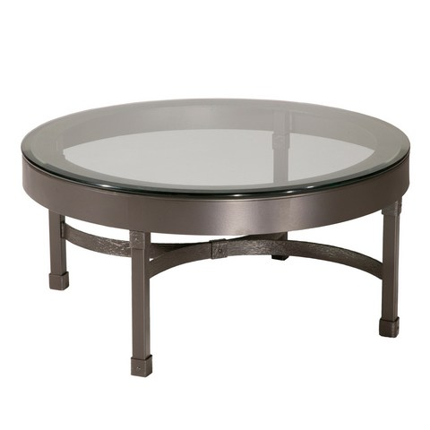 Glass Top Coffee Tables With Wrought Iron Base Round Glass Top Coffee Table Wrought Iron Round Wrought Iron Coffee Table (Image 4 of 10)