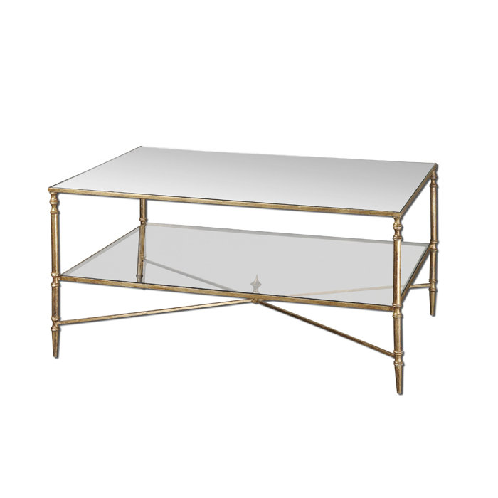 Glass Top Metal Coffee Table Metal Top Coffee Table Save Henzler Metal Frame Glass Top Coffee Table W Tempered Glass (View 6 of 10)