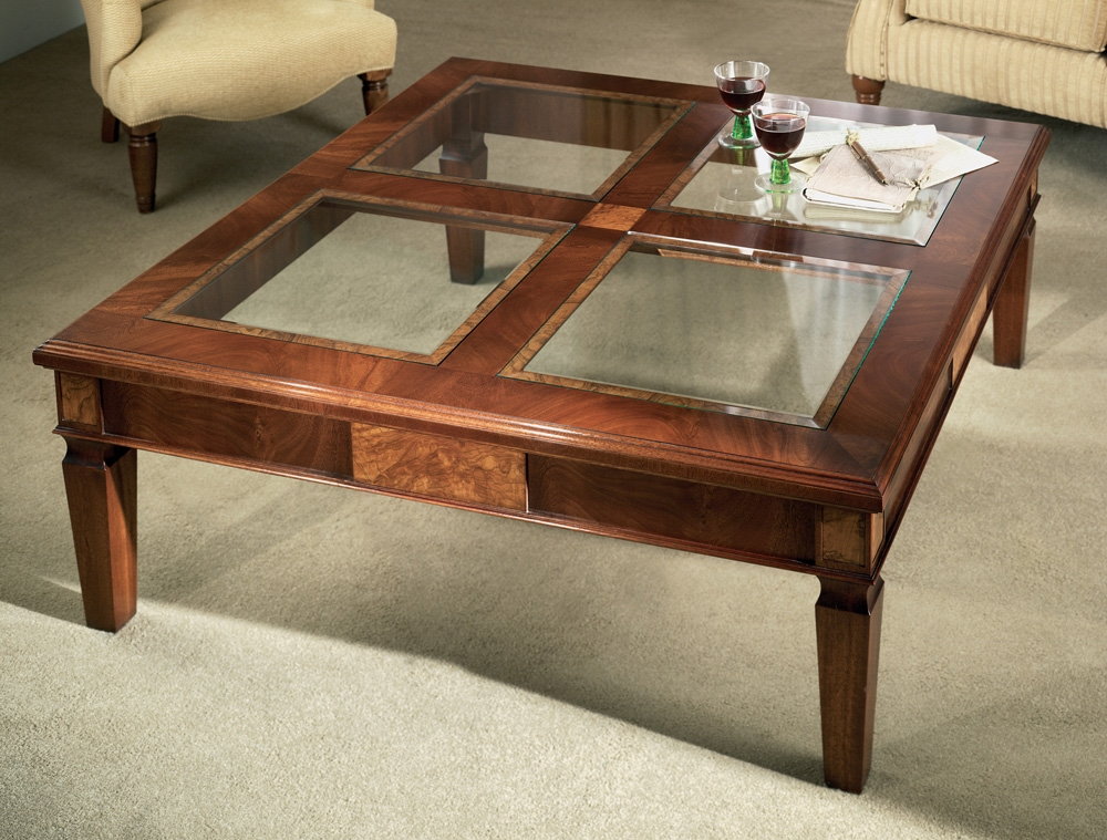 Gl Topped Coffee Table Get That Look You Have Allways Been Looking For We Can Custom