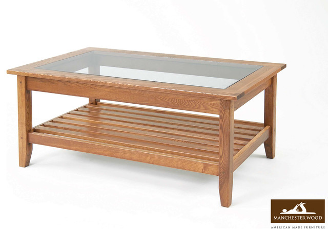 Glass Topped Coffee Tables Roma Solid Oak Coffee Table With Glass Top Main Cheap Price Images Gallery (Image 9 of 10)