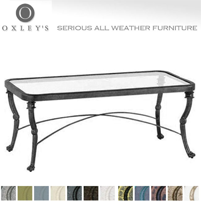 Glass Topped Coffee Tables Uk Oxleys Have Been Producing Fine Quality Cast And Fabricated Aluminium Furniture In The Uk For Many Years (Image 7 of 10)