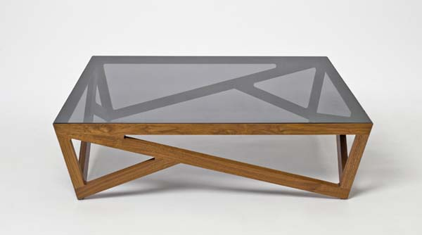 Glass Wood Coffee Table Anna Fresko Wood And Glass Coffee Tables Eclectic Old Wooden (View 2 of 10)