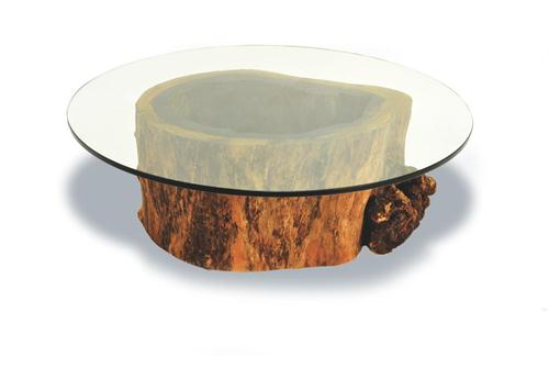 hollow-trunk-coffee-table-contemporary-cocktail-table-from-rotsen-furniture-round-glass-top-coffee-table-large-round-glass-coffee-table (Image 5 of 10)