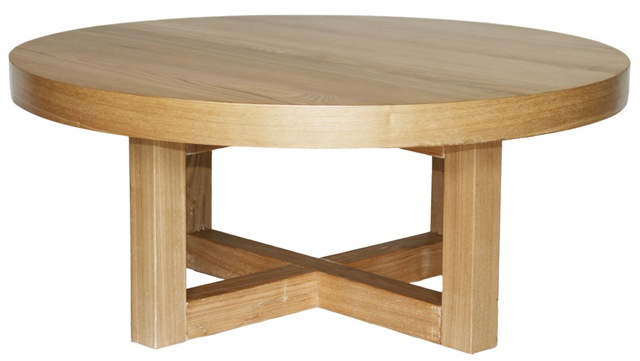 Hudson Round Coffee Table Furniture Round Timber Coffee Table Wooden Timber Coffee Tables (Image 3 of 10)