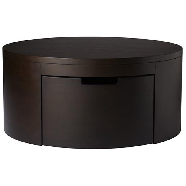If Youd Like To Keep Your Decor Understated But Still Want Extra Storage Then Youll Want To Pick Up Round Coffee Table With Storage (Image 4 of 10)