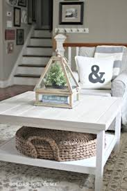 ikea-hack-hemnes-coffee-table-with-planked-top-and-pottery-barn-beachcomber-round-tray-round-trays-for-coffee-tables (Image 2 of 9)