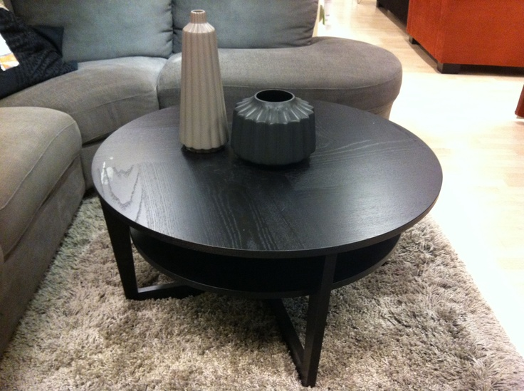 ikea-round-coffee-table-round-coffee-tables-ikea-gothic-ikea-round-black-coffee-table-set-after-contemporary-beige-sectional-sofa-designed-on-shag-area-rug (Image 3 of 10)