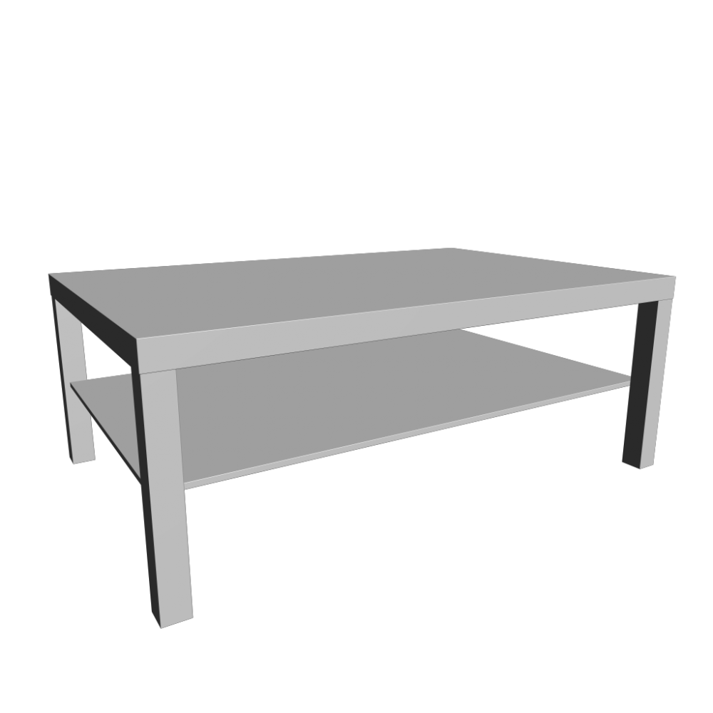 Ikea Small Coffee Table Lack Also Glass Material Increases The Space Of All Rooms. This Table Will Be Perfect For Small Living Room Or Living Room (Image 5 of 10)