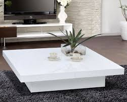 Featured Photo of White Coffee Table Modern  High Quality