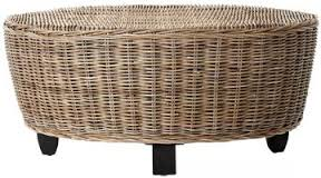 Images Modern Wood Coffee Table Reclaimed Metal Mid Century Round Natural Diy Padded Wicker Coffee Table Ottoman (View 2 of 10)