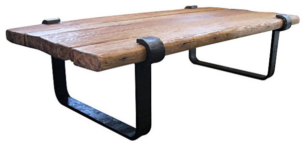Industrial Coffee Tables Rustic Clasp Coffee Table Industrial Coffee Tables Rustic Wood And Iron Coffee Table (Image 3 of 10)