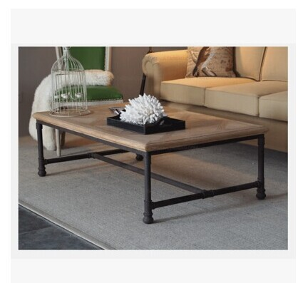 Popular Photo of Industrial Glass Coffee Table