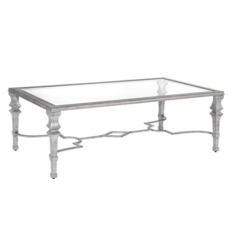iron-coffee-table-with-glass-top-faux-bamboo-iron-silver-coffees-tables-and-coffee-table-in-antiqued (Image 3 of 10)