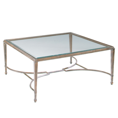 iron-coffee-table-with-glass-top-huge-square-coffee-table-with-x-design-iron-base-glass-top-modern-jasper-shagreen (Image 4 of 10)