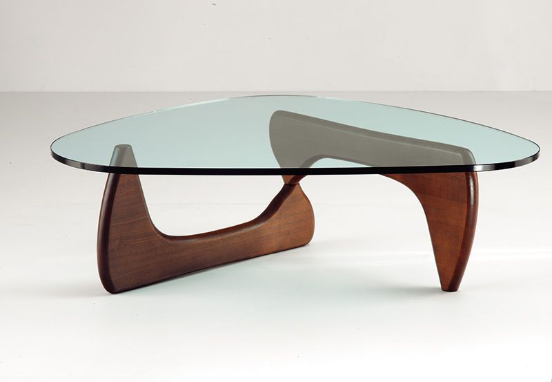 Isamu Noguchi Glass Coffee Table No Doubt Because It Is Reminiscent Of His Biomorphic Sculptures In Bronze And Marble From The Same Period (Image 4 of 10)