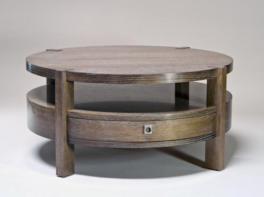 knowlton-brothers-furniture-30-round-coffee-table-modern-contemporary-style-to-every-living-room-or-family-room (Image 5 of 10)