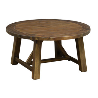 Kosas Home Kosas Collections Aubrey 36 Inch Round Wood Coffee Table Overstock Shopping Great Deals On Kosas Collections Coffee 36 Round Coffee Table (Image 5 of 10)