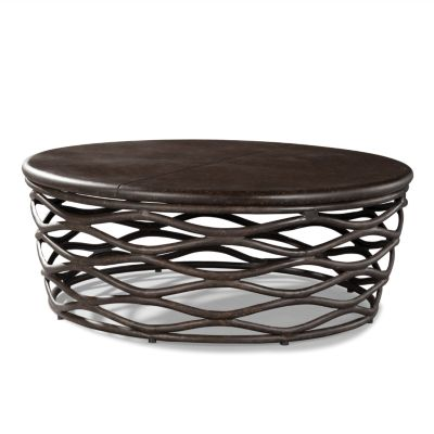 lane-venture-industrial-renaissance-48-inch-round-cocktail-table-48-round-coffee-table-48-coffee-table (Image 4 of 10)