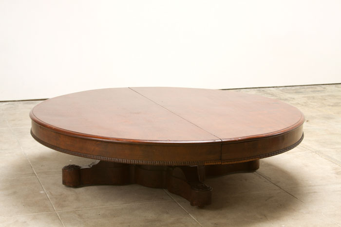Large Round Coffee Tables Oversized Round Coffee Tables Round Glass Top Coffee Table Round Coffee Tables Living Room (View 5 of 10)