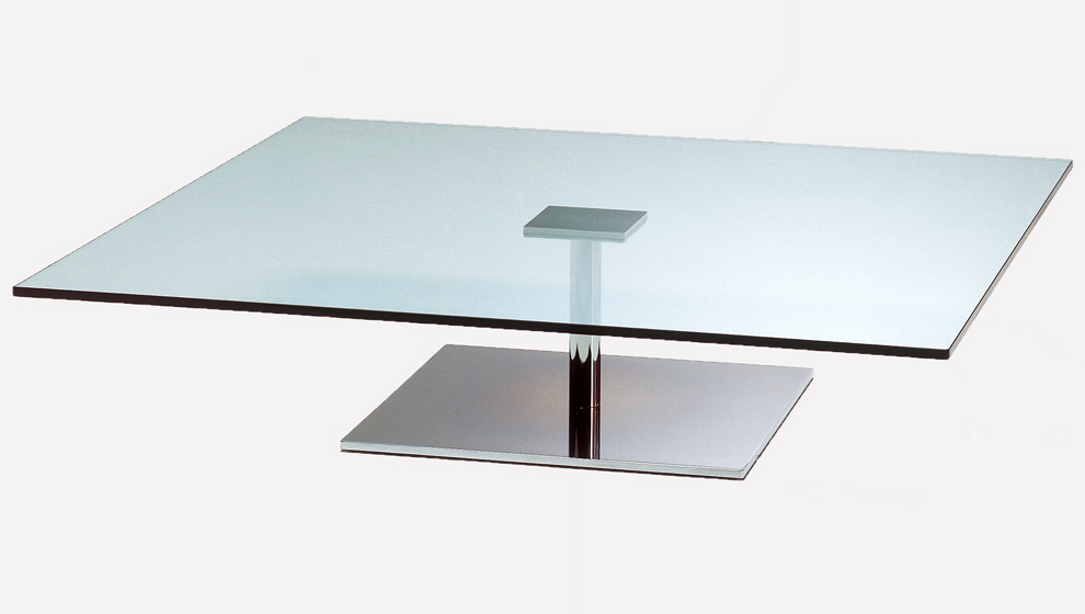 Large Square Glass Coffee Table Square Mid Century Modern Chrome Luxury Tables Ideas Simple Design (View 9 of 10)