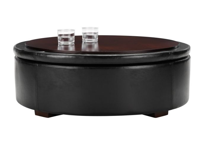 Leather Coffee Table With Storage Round Storage Coffee Table End Tables With Storage Space Rustic Coffee Tables And End Tables (View 3 of 10)