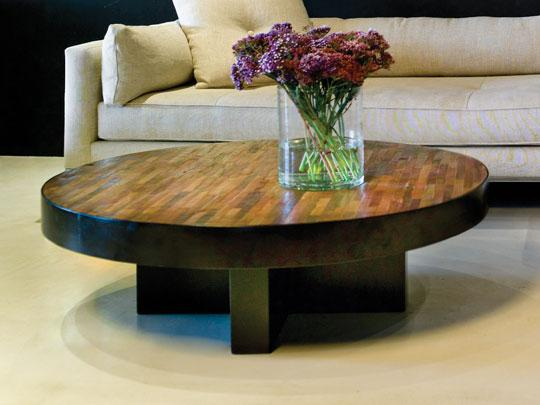 Low Round Coffee Table As Ottoman Coffee Table For Refinishing Table Of Popular Small Wood Coffee (View 4 of 10)
