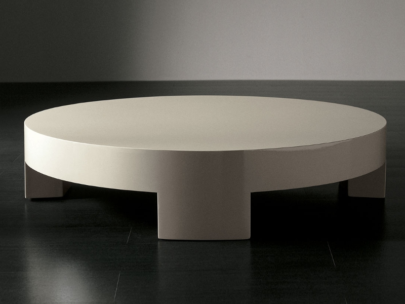 low-round-coffee-table-round-coffee-table-round-low-coffee-table-elegant-simple-design-cream-round-coffee-table (Image 4 of 10)