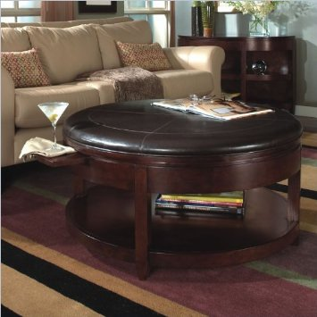 Magnussen Brunswick Round Cocktail Table And End Table Set Round Coffee And End Table Sets Glass Coffee Tables Sets (Image 6 of 10)