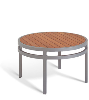 Manufacturer Of Quality Seating Bayhead Teak Round Coffee Table Outdoor Coffee Table Round Small Outdoor Coffee Table (Image 3 of 10)