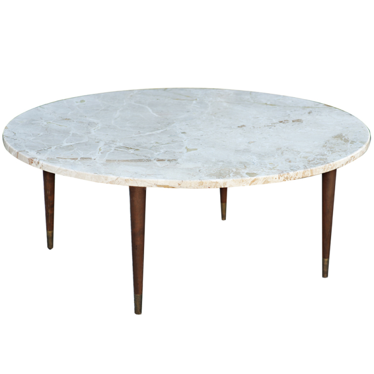 marble-round-coffee-table-mid-century-round-marble-coffee-table-all-marble-coffee-table-marble-or-stone-coffee-table (Image 4 of 10)