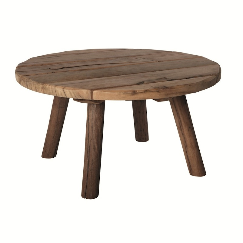 Metal And Round Wood Coffee Table Round Wooden Coffee Table Round Glass Coffee Tables Side Tables For Living Room (Image 2 of 10)