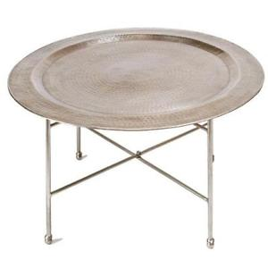 Metal Round Coffee Table Round Metal Coffee Table Outdoor Round Metal Coffee Table Metal Table Interior Steel Tables (View 5 of 10)