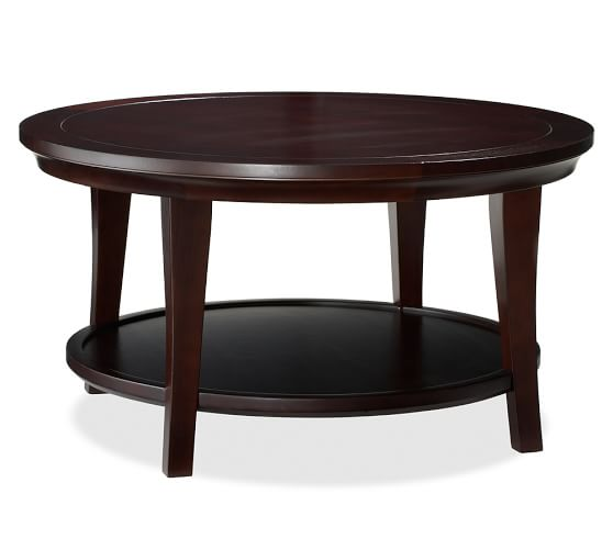 Metropolitan Round Coffee Table Contemporary Coffee Tables Round Coffee Table Espresso Contemporary Coffee Tables (Image 9 of 10)