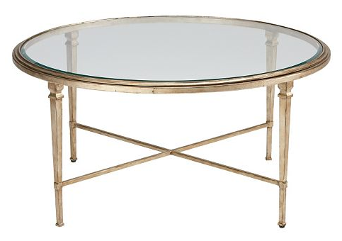Mirrored Coffee Table Round I Found A Similar Alternative At West Elm For About Half The Price The Foxed Mirror Coffee Table (Image 6 of 10)