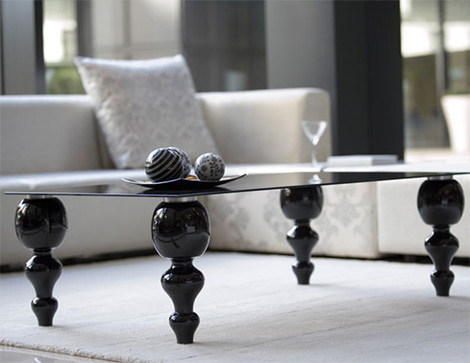 Modern Classic Coffee Table Legs Made The Table Stylish Enough To Be In Your Contemporary Home Office Or Business Establishment (View 6 of 9)