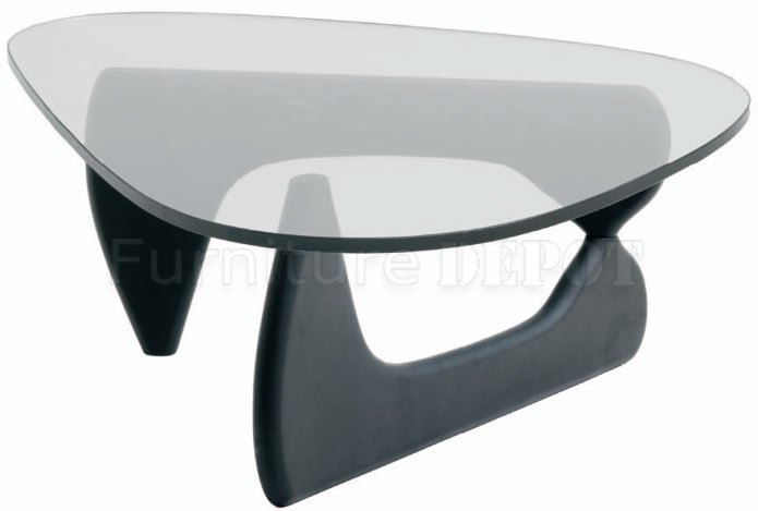 Modern Glass Top Coffee Table The Coffee Table Has A Three Side Glass Top And A Solid Hardwood Base It Perfectly Suits Any Contemporary Home Decor (View 9 of 9)