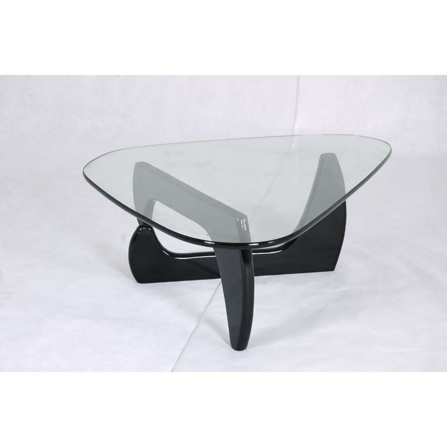 Modern Glass Top Coffee Tables Another Black Glass Coffee Table Is The Yield Coffee Table This Is A Stylish Table That Goes With Any Type Of Casual (Image 2 of 9)