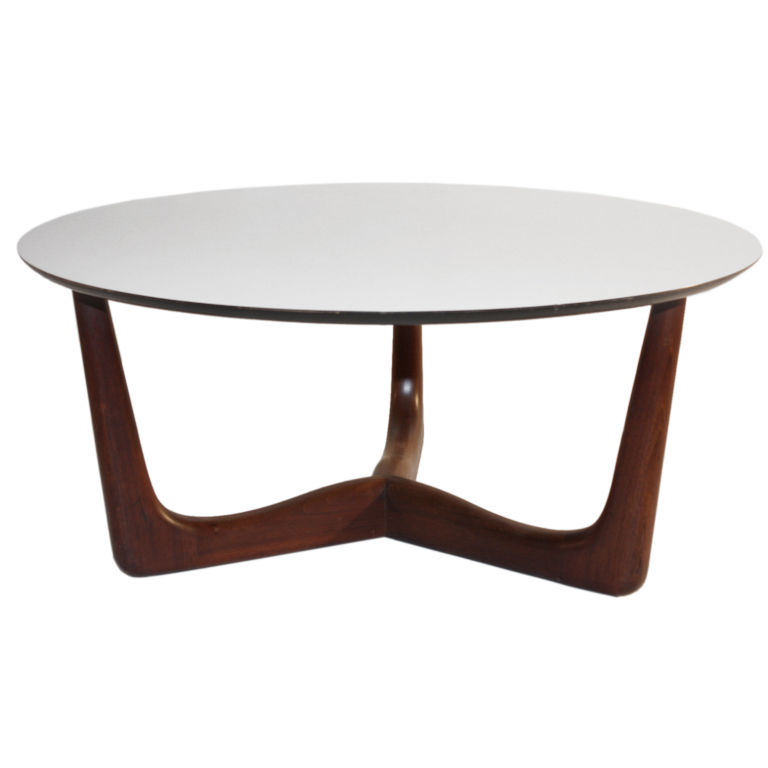 Modern Round Coffee Tables 1960s Danish Modern Style Round Coffee Table Modern Coffee Tables And End Tables (Image 7 of 10)