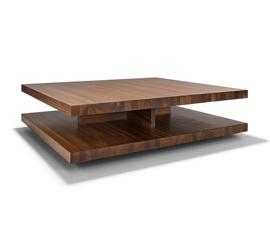 modern-solid-Modern-wood-coffee-table-reclaimed-metal-mid-century-round-natural-diy-Contemporary- (Image 3 of 10)