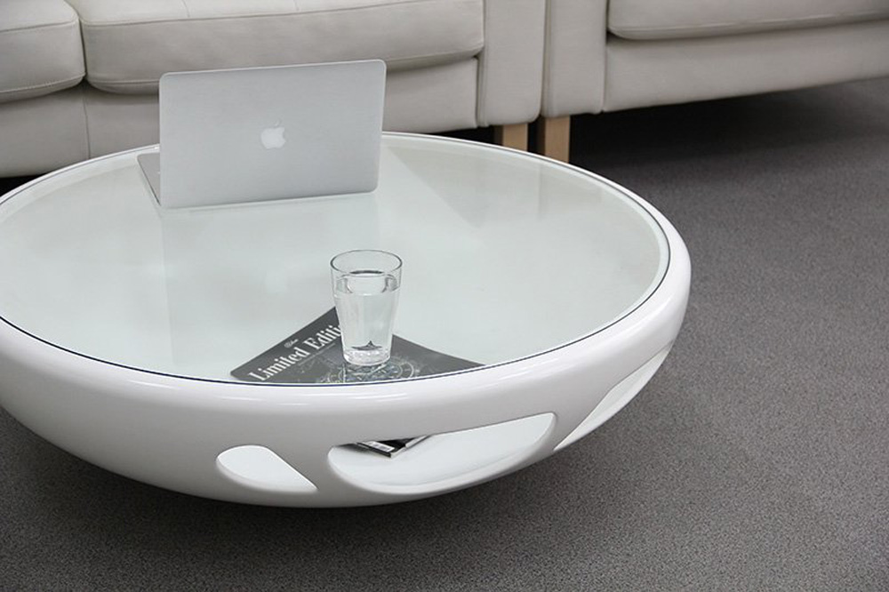 Modern Table Design By Mikhail Belyaev Modern Round Coffee Table Interior Design Modern White Round Coffee Table (Image 4 of 10)