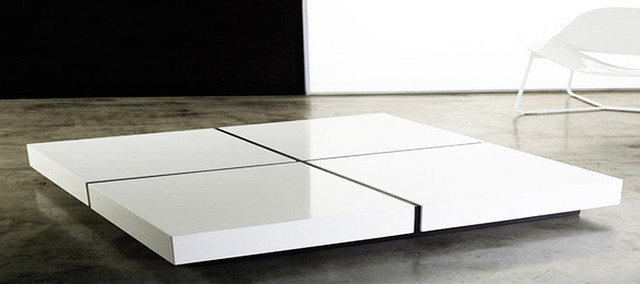 modern-white-table-contemporary-coffee-tables-Modern-wood-coffee-table-reclaimed-metal-mid-century-round-natural-diy-Contemporary-modern-Coffee-table-White (Image 7 of 10)